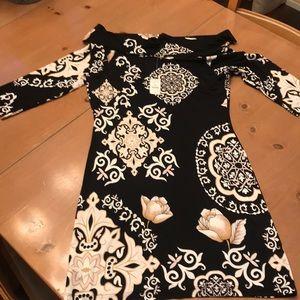 WHBM OFF SHOULDER DRESS